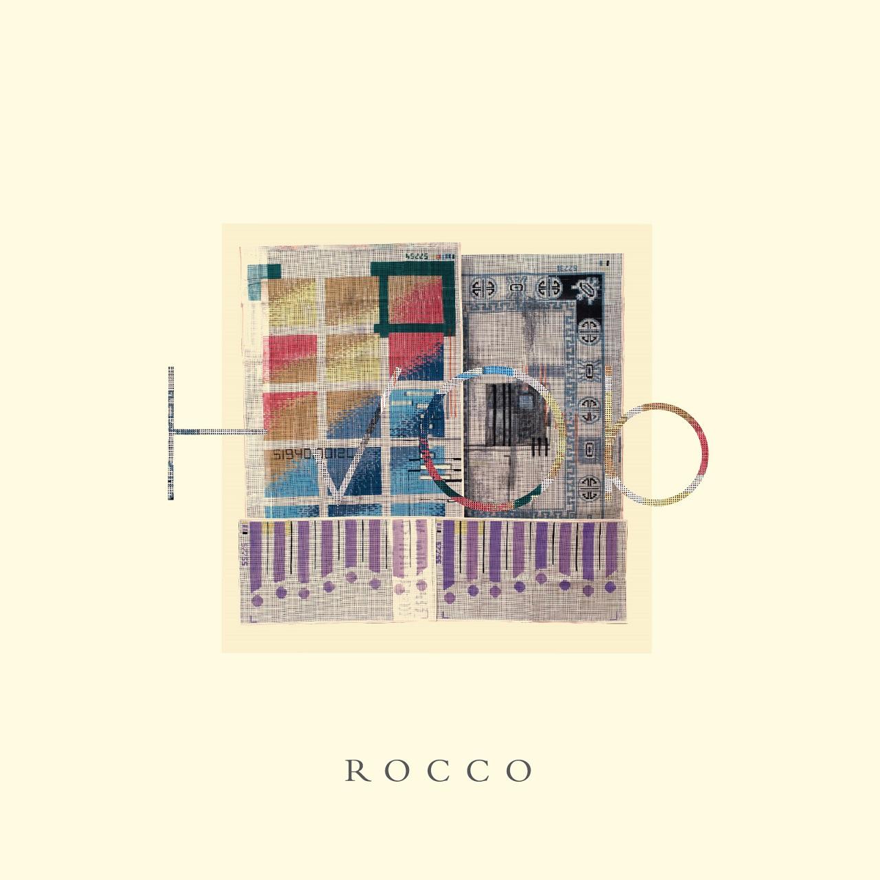 """Albumcover HVOB """"Rocco"""""""