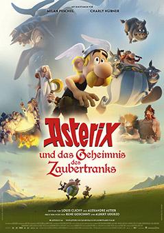"""Kinoplakat von """"Asterix und das Geheimnis des Zaubertranks"""""""