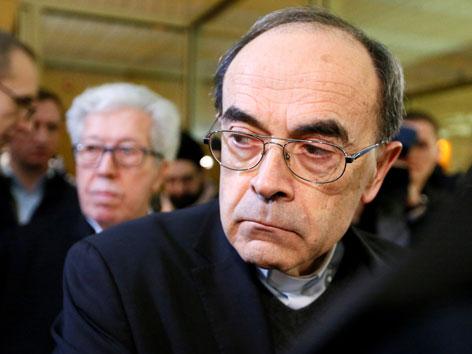 Der wegen sexuellem Missbrauch verurteilte Kardinal Philippe Barbarin