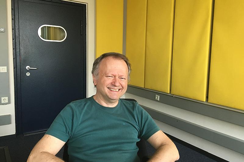 Politikwissenschaftler David Campbell im Ö1-Studio