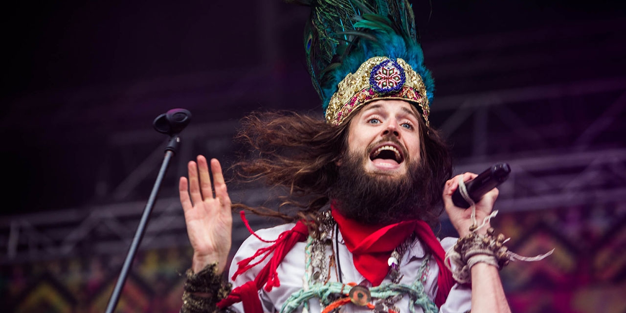 Crystal Fighters am Frequency 2014