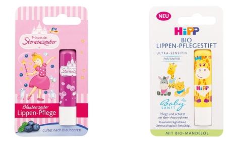 Lippenpflege für Kinder