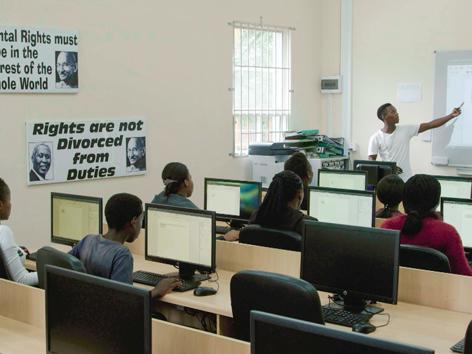 """Phoenix Settlement"" Durban Computer Schule"