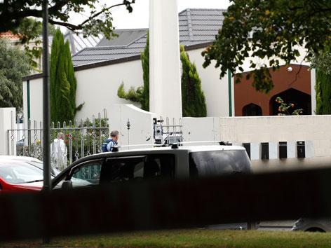 Die Al-Noor-Moschee in Neuseeland, auf die ein Terroranschlag verübt wurde