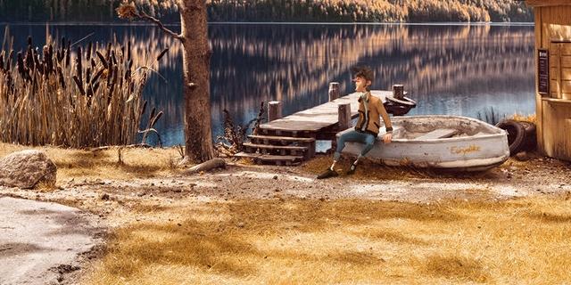 """Szene aus """"Trüberbrook"""": Waldsee"""