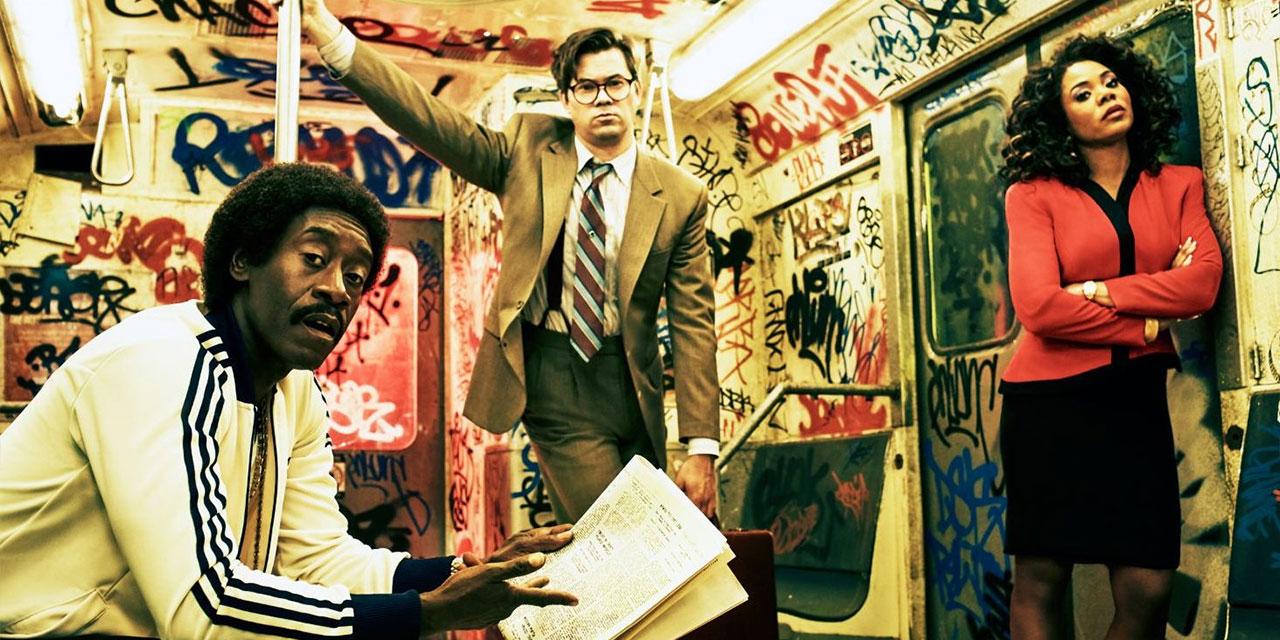 Drei Wall-Street-Broker in der U-Bahn