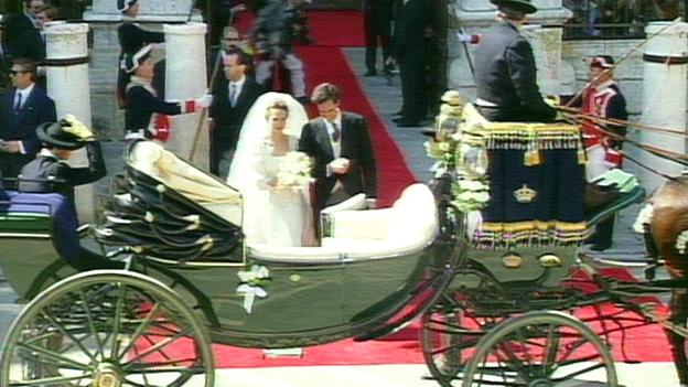 Hochzeit in Spanien, Infantin Elena von Spanien und ihr Mann Jaime de Marichalar