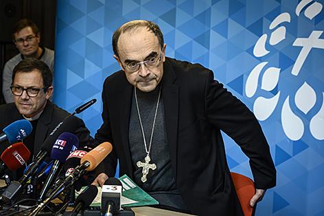 Verurteilter Kardinal Barbarin reichte Rücktritt ein – religion.ORF.at