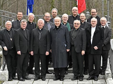Gruppenbild der österreichischen Bischöfe