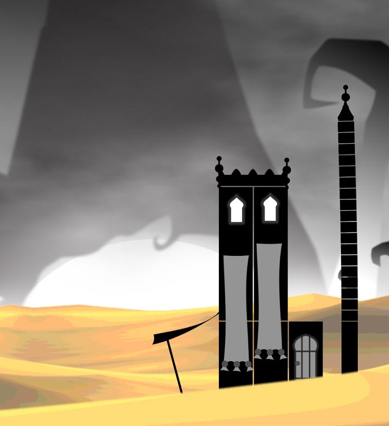 "Turm aus ""The Tower of Egbert"""