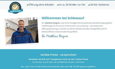 Screenshot schlossauf.at