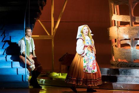 Aus der Oper Graz: Die polnische Hochzeit
