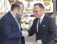 IGGÖ-Präsident Ümit Vural und der  Präsident der Jüdischen Gemeinde Graz, Elie Rosen