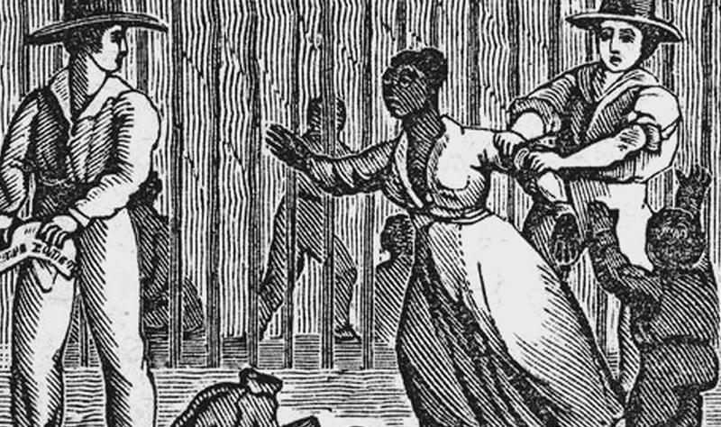 Für Frauen mit Kindern war die Flucht besonders schwer, South Carolina 1860
