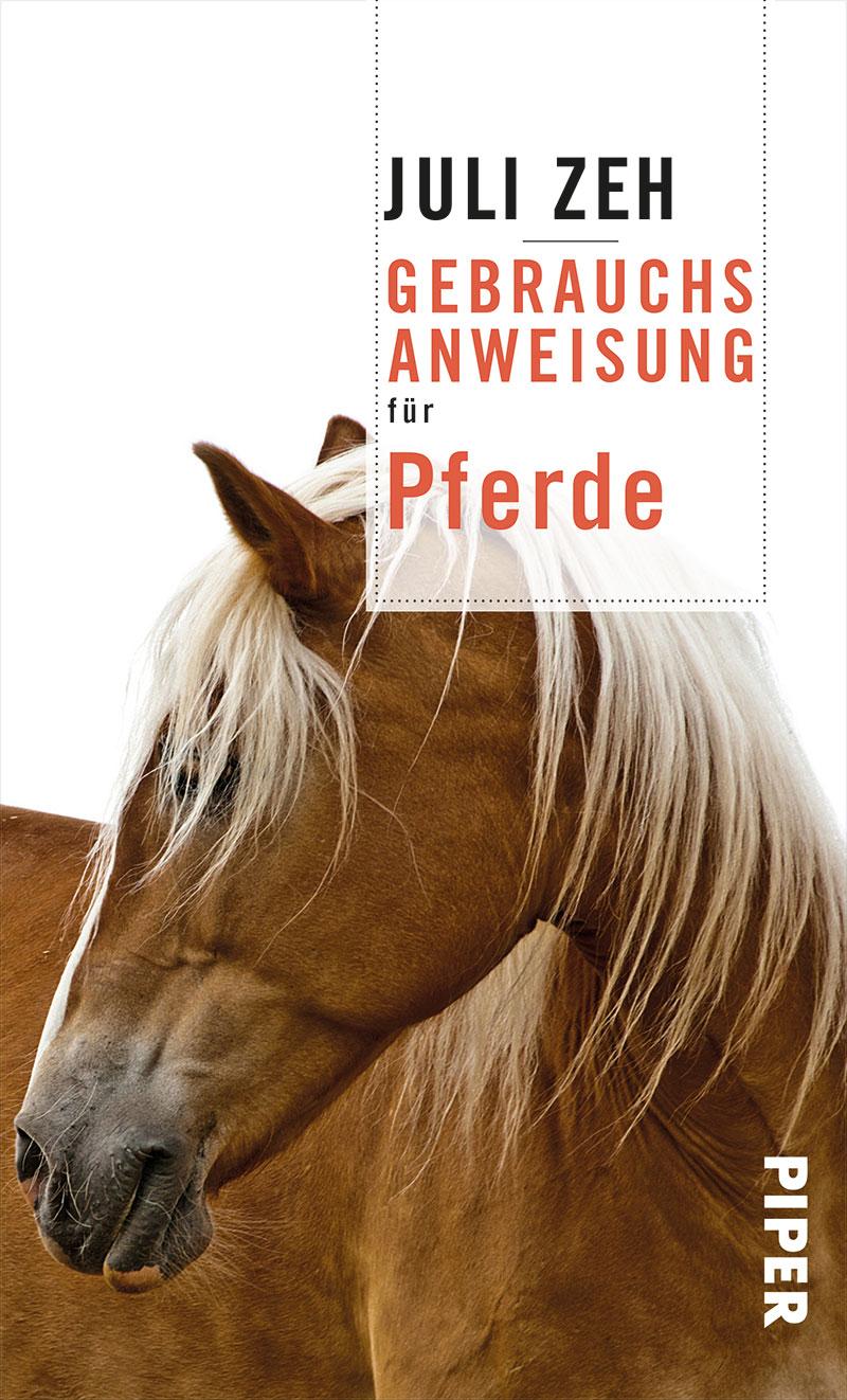 """Buchcover von Juli Zehs """"Gebrauchsanweisung für Pferde"""""""