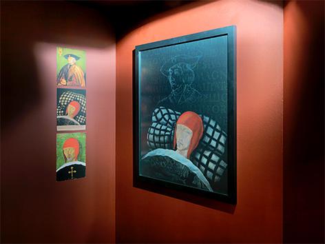 Totenbilder Maximilians I. in der Jahresausstellung 2019 im Stift Klosterneuburg