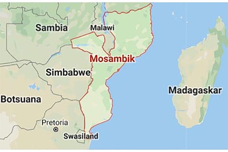 Mosambik Karte