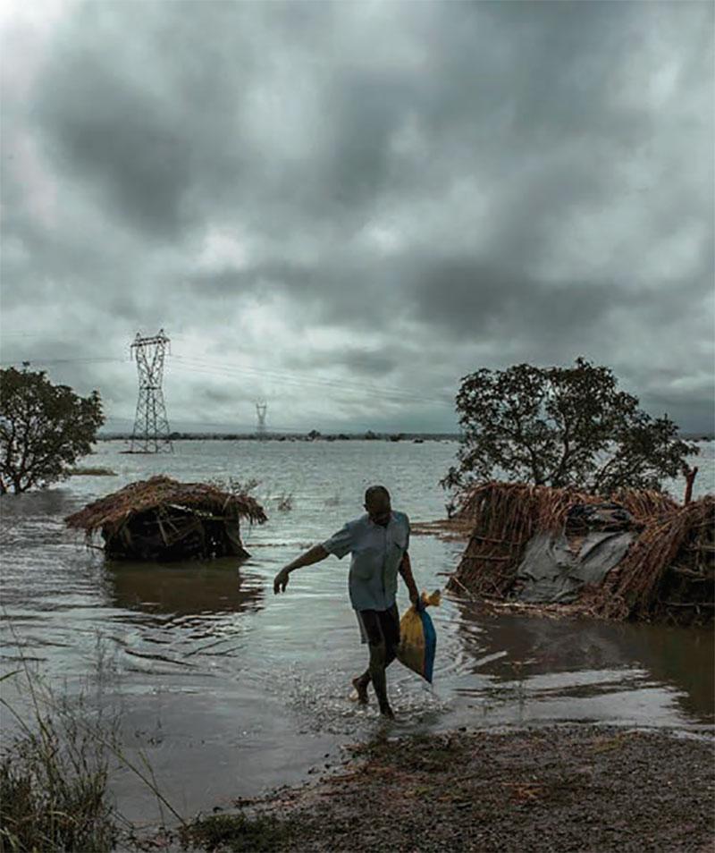 Mozambik nach dem Zyklon Idai