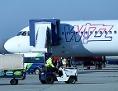 WizzAir Flugzeug auf dem Liszt Ferenc International Airport in Budapest