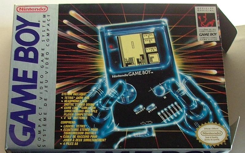 Verkaufsbox des originalen Nintendo Game Boy