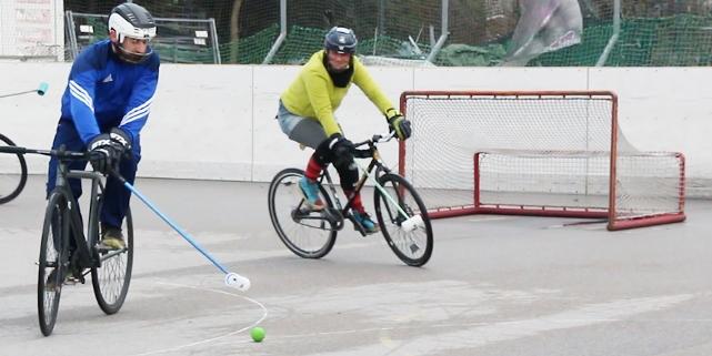 Bikepolo-Spiel