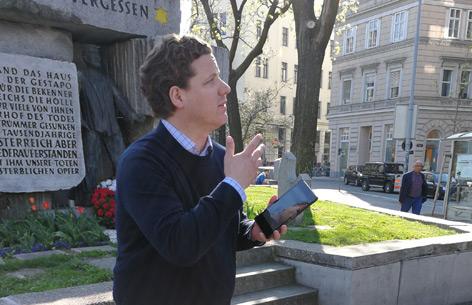 "Historiker Schellenbacher präsentiert DÖW-Projekt ""Memento Wien"""