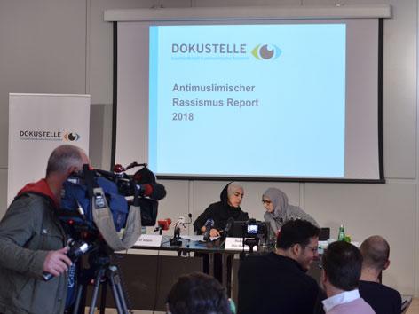 Pressekonferenz zum Antimuslimischen Rassismusbericht 2018