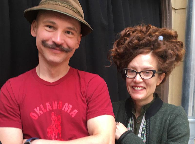 Pavol Liska und Kelly Copper vom Nature Theater of Oklahoma