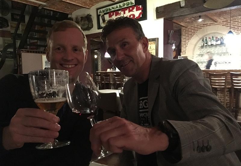 Bikerace in Flandern