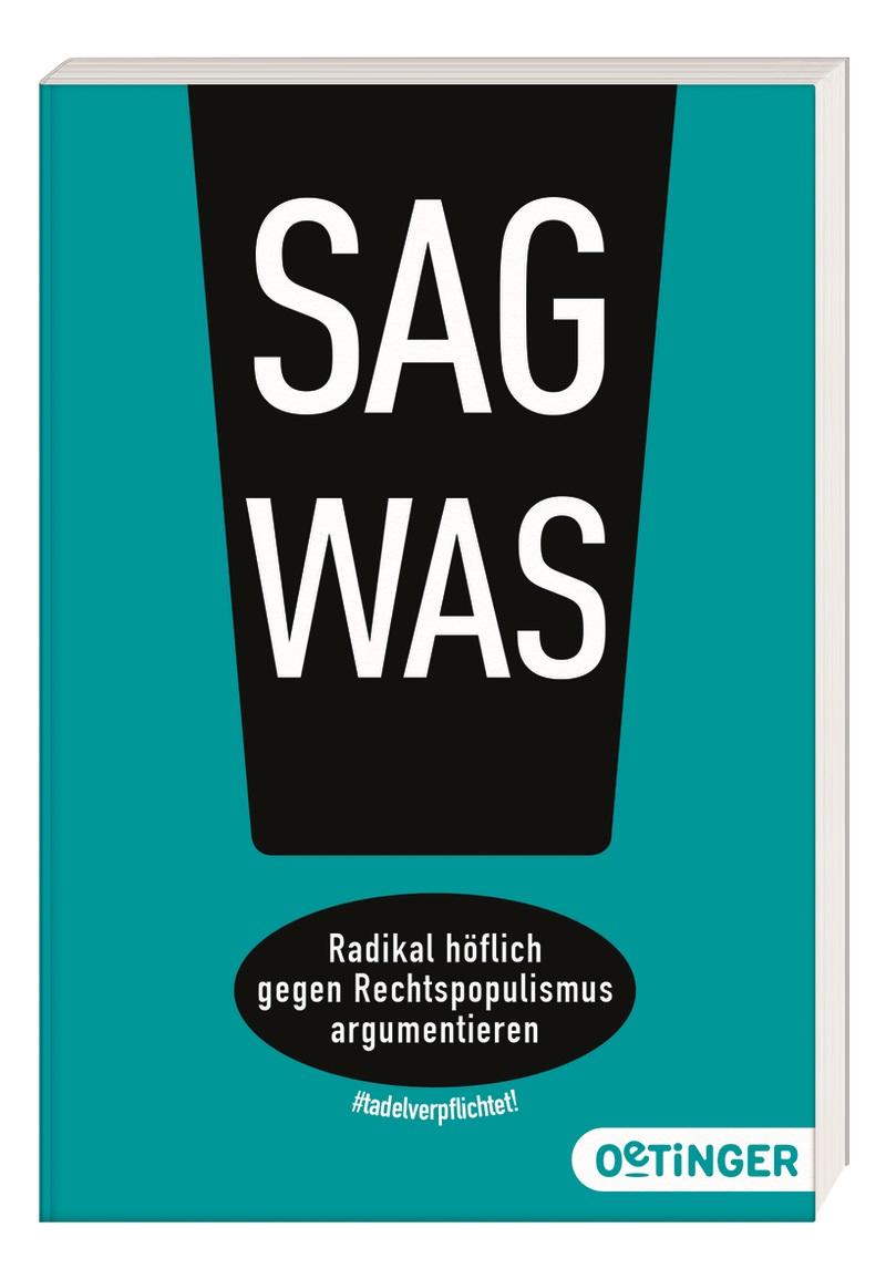 Buchcover: Sag was!