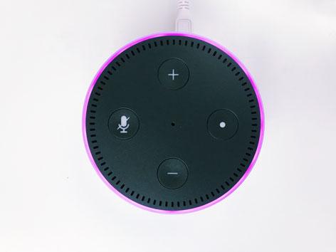 Amazon Alexa von oben