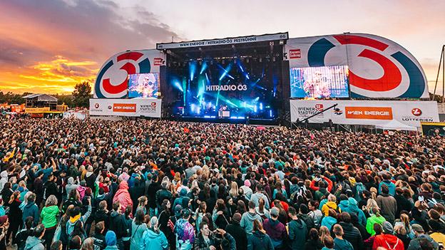 Ö3-Bühne am Donauinselfest