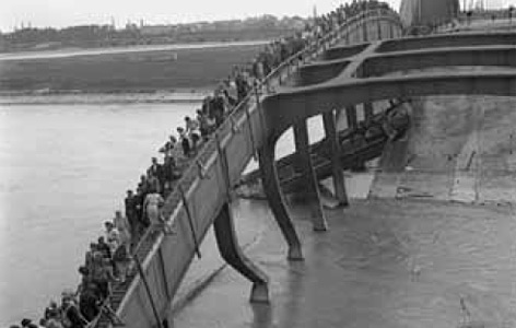 Notsteg der Floridsdorfer Brücke