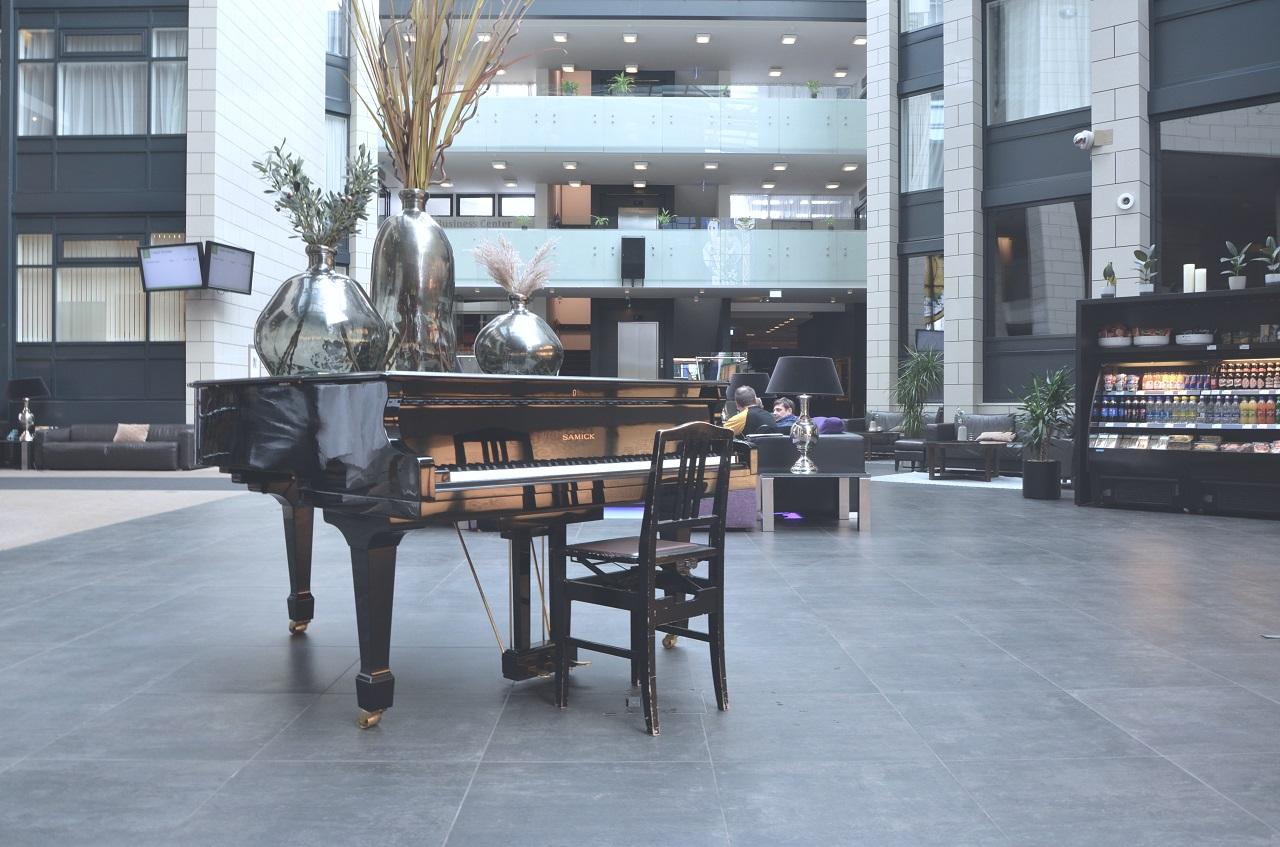 Piano im Grand Hotel Reykjavik