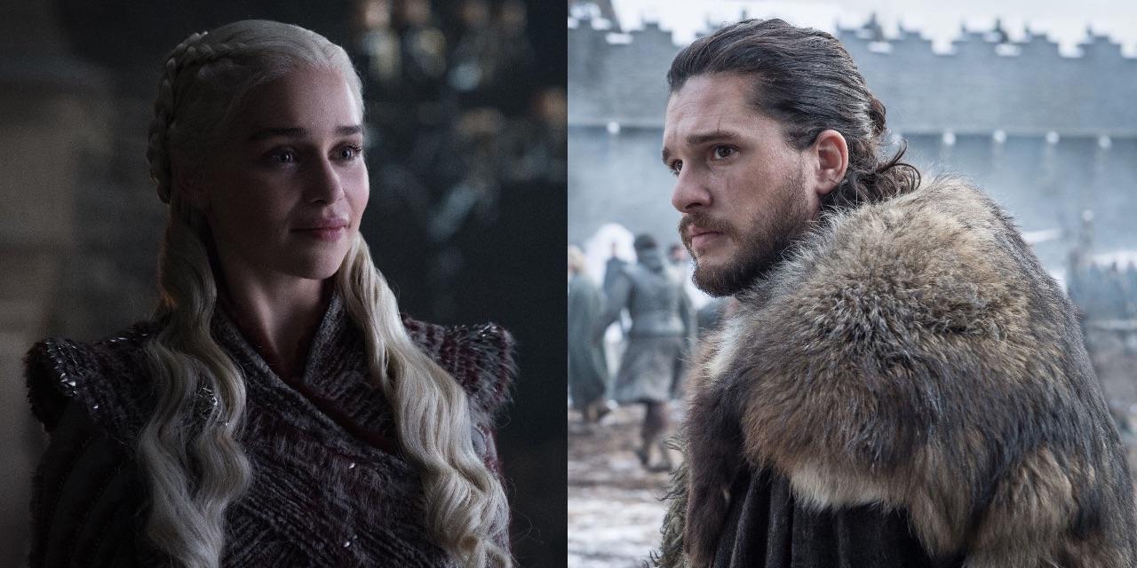 Daenerys Targaryen and Jon Snow Game Of Thrones