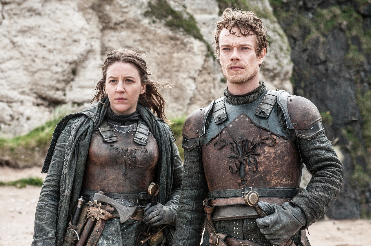 Theon and Yara Greyjoy Game Of Thrones