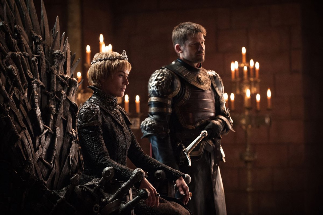 Cersei and Jamie Lannister Game Of Thrones