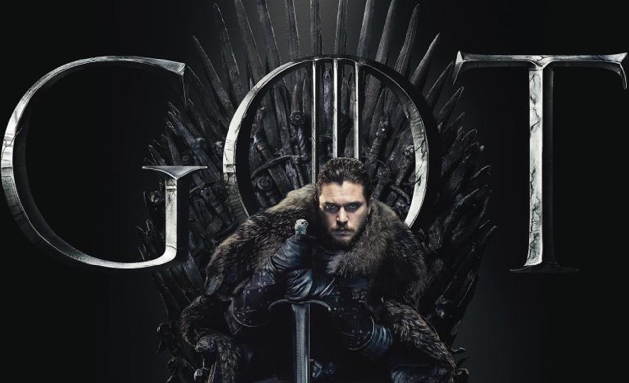 GOT Staffel 8 - Jon Snow am Iron Throne