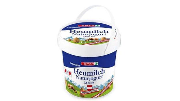 Spar Naturjoghurt 1kg Kübel