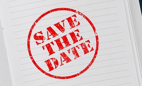 Kalender - Save the date