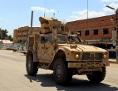US-Fahrzeuge im Einsatz gegen den IS