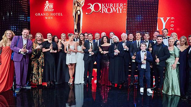 Die Preisträger der 30. Romy-Verleihung