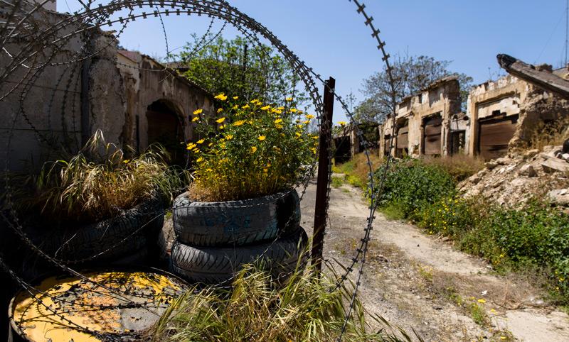 Militärische Sperrzone auf Zypern