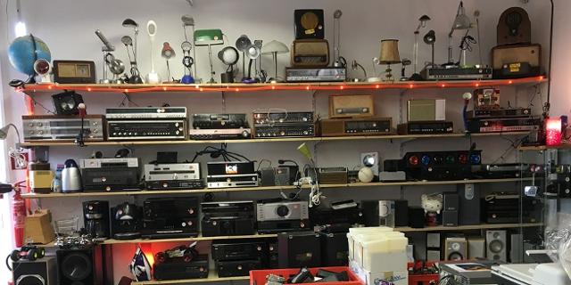 Recycelte Elektrogeräte