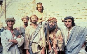 Das Leben des Brian <br />  <br /> Originaltitel: Monty Python's Life Of Brian (GBR 1979), Regie: Terry Jones.
