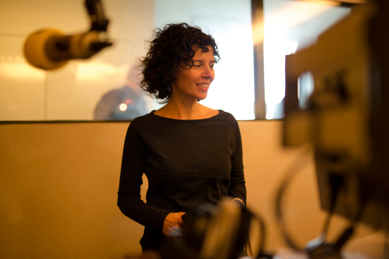 Marie Kreutzer im FM4 Studio