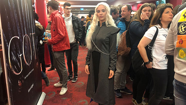Game of Thrones Premiere in Graz Khaleesi