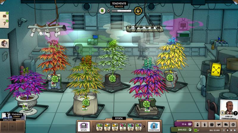 Screenshot aus dem Spiel Weedcraft Inc.