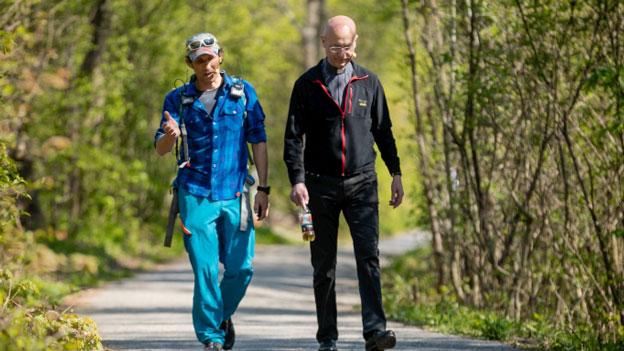 Toni Faber und Tom Walek in Walek Wandert