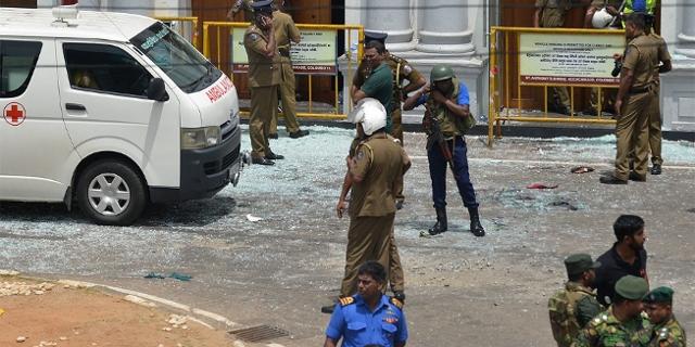Soldaten in Colombo
